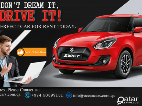 ALL KINDS OF NEW BRAND VEHICLES AVAILABLE CAR FOR RENT !CALL US :4418 2020 / 5039 9151