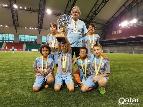 Future Football celebrate achievements of U10 and U12 teams