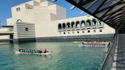 WATCH: QNB 2020 Qatar Winter Dragon Boat Festival