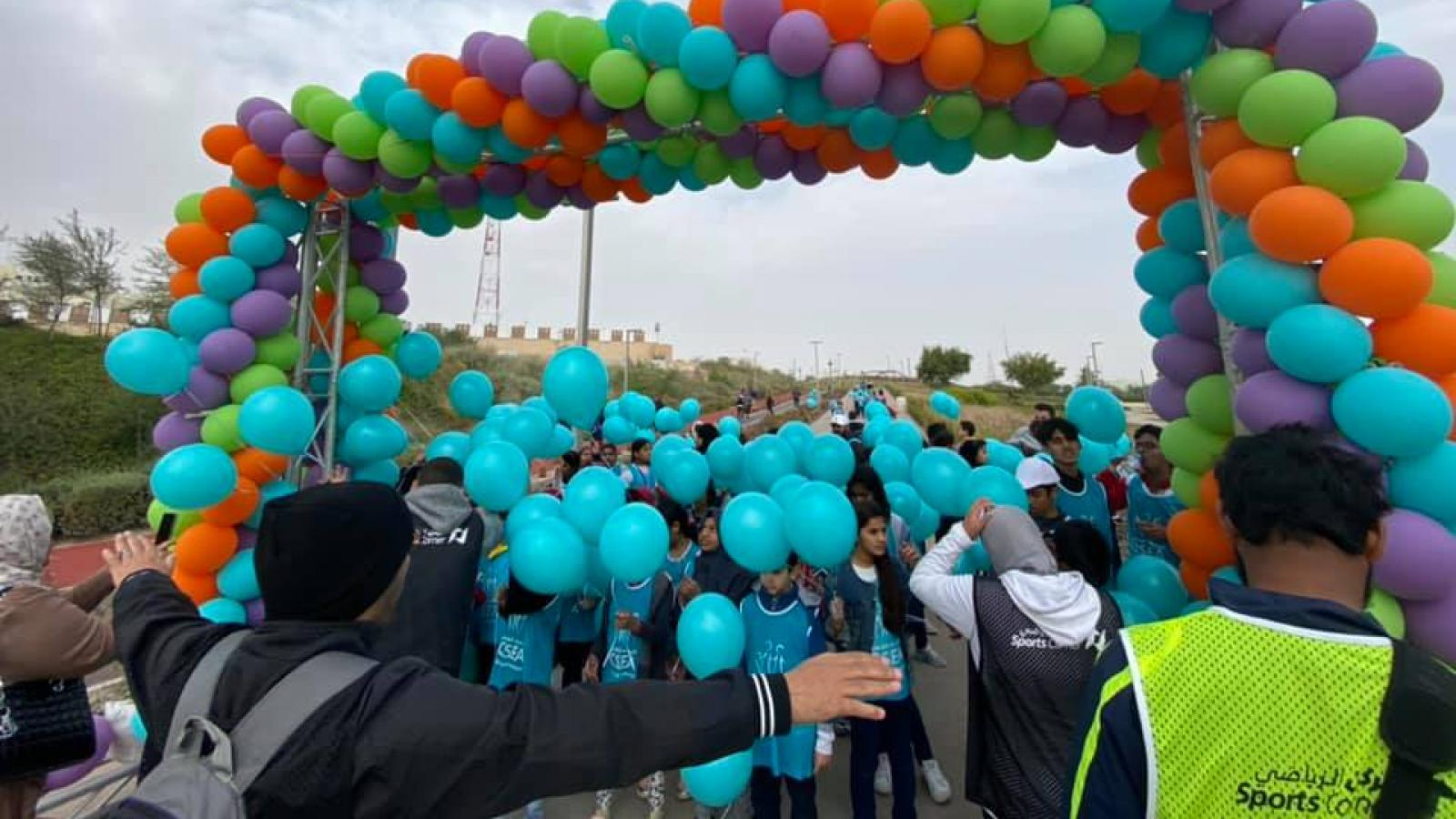 WATCH: Balloon Run at Al Bidda Park sees great turnout