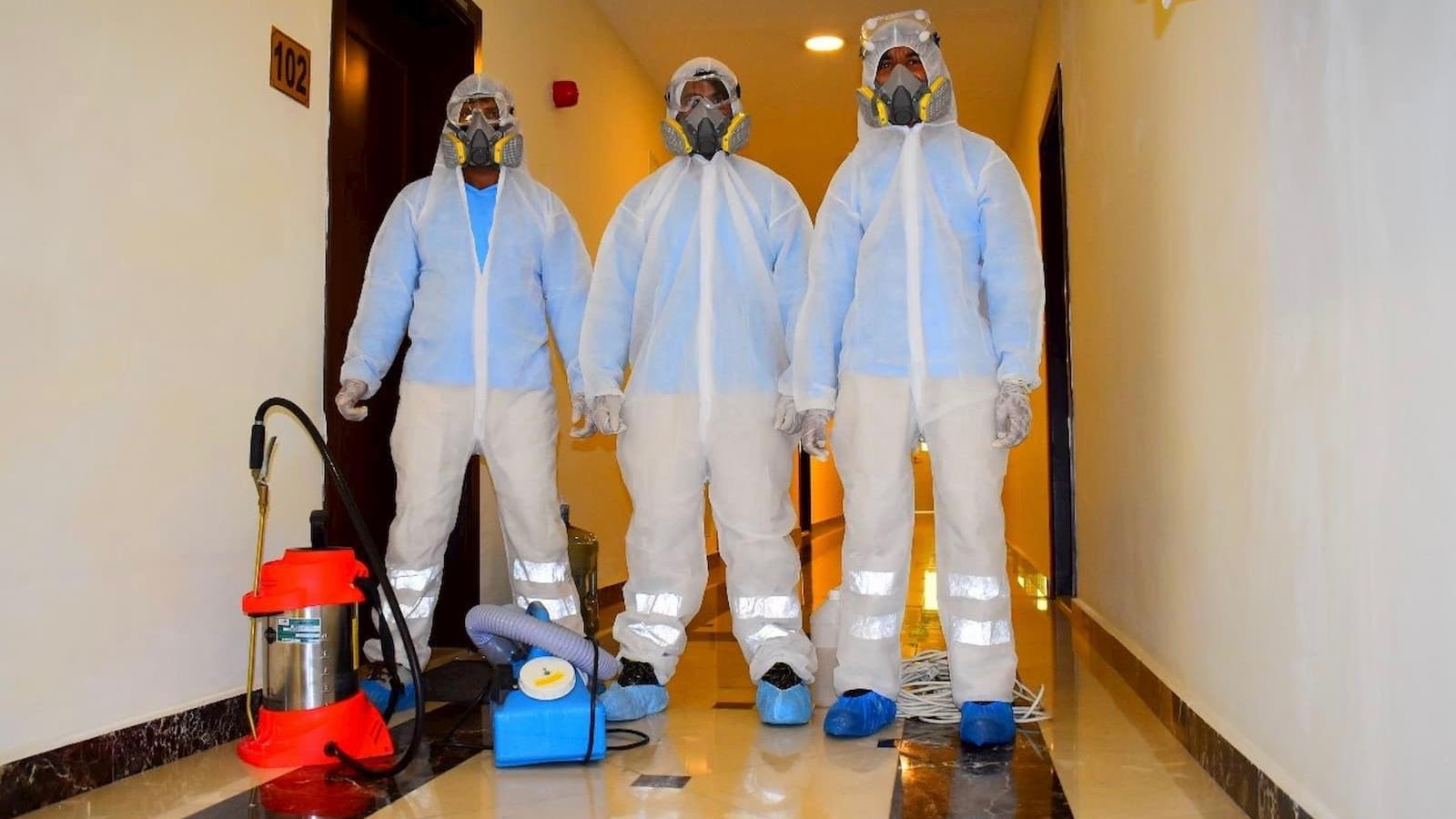 Keep your homes safe and virus-free with Sterikem Qatar's disinfection services and products