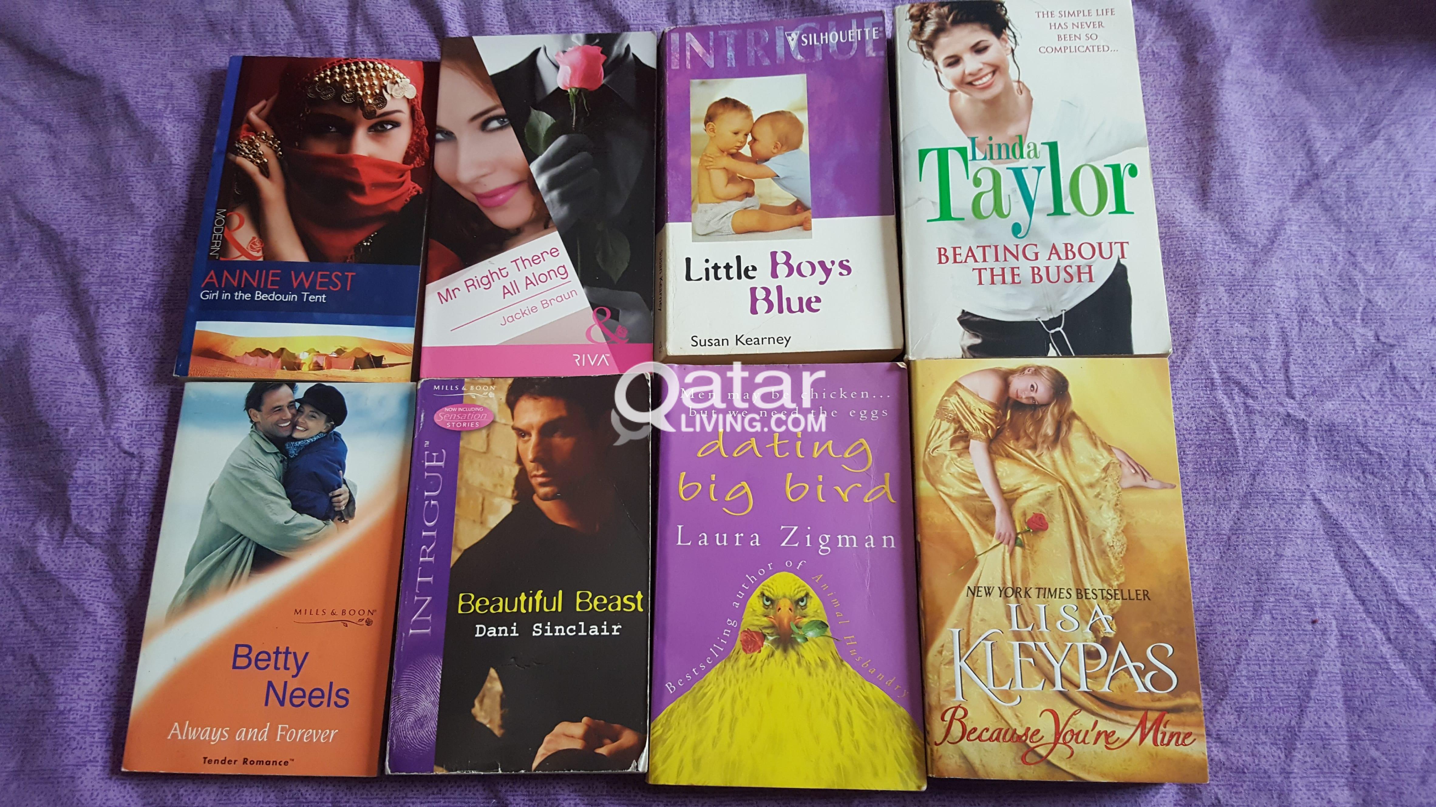 Books for sale ( including Julia Q, Julie G)