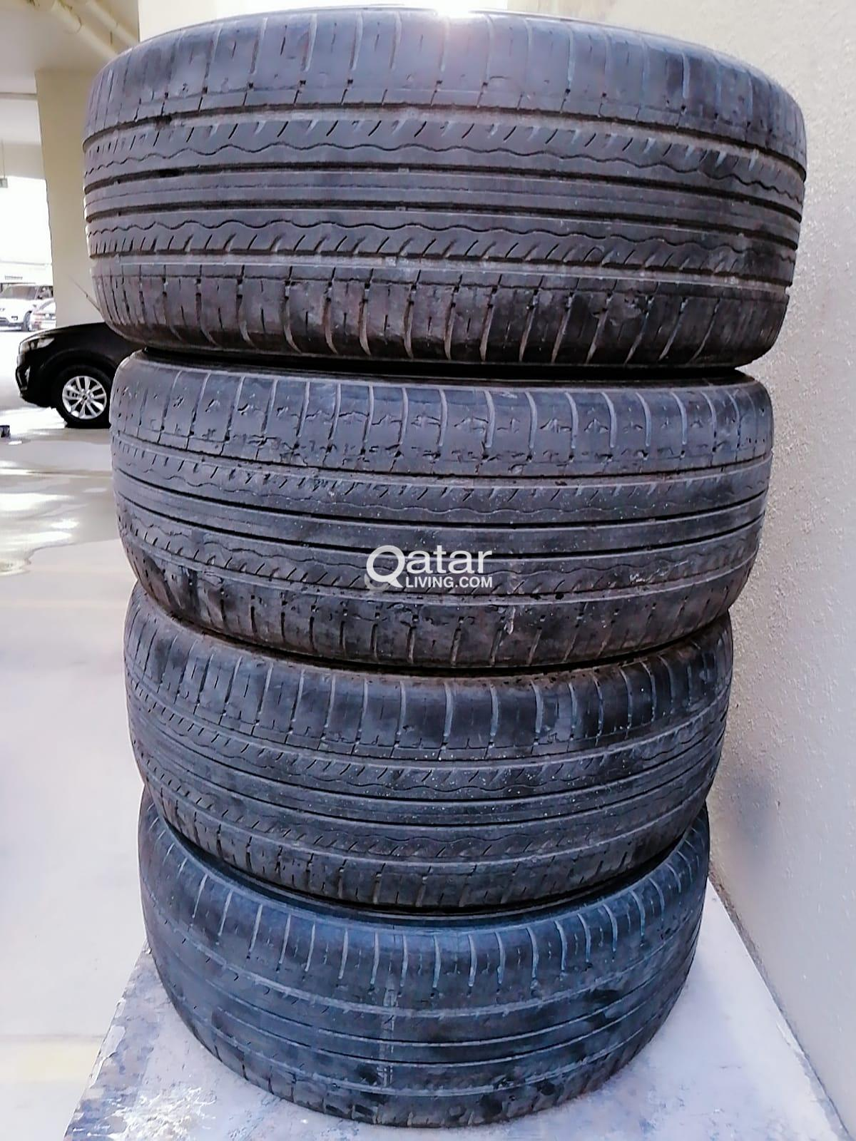 3 TIRES SIZE 215/50R17 FOR SALE