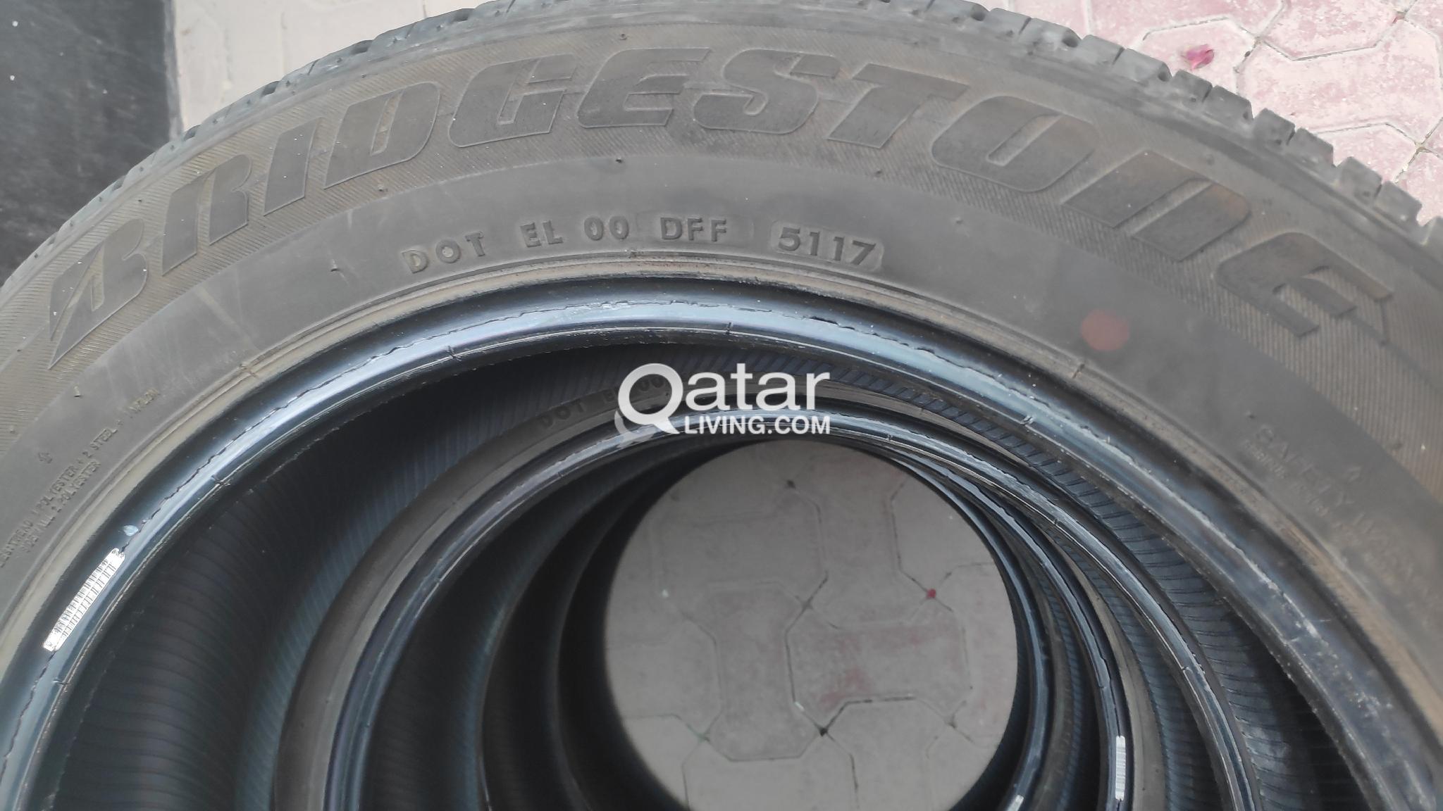 4 tyres/tires Bridgestone