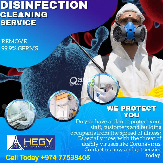 Pest Control Services - Cleaning Services - Disinf