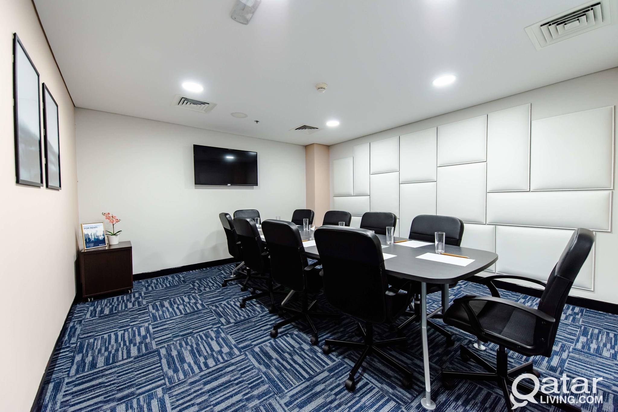 Fully serviced Office 20sqm in Barwa Commercial Av