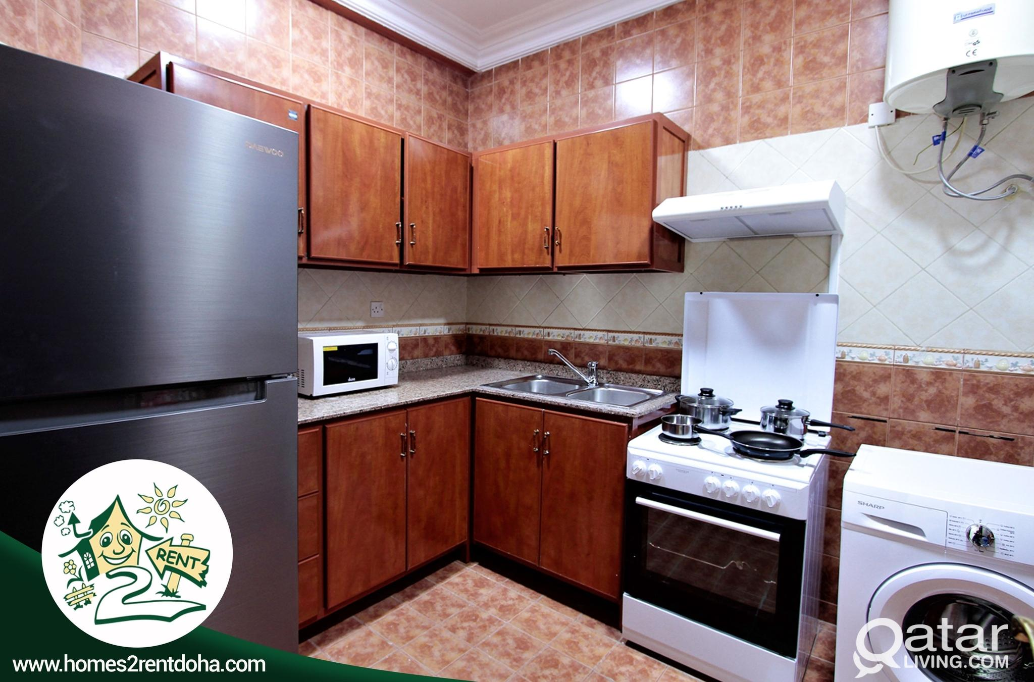 2BHK FULLY FURNISHED APARTMENT ! ALL INCLUSIVE (OL