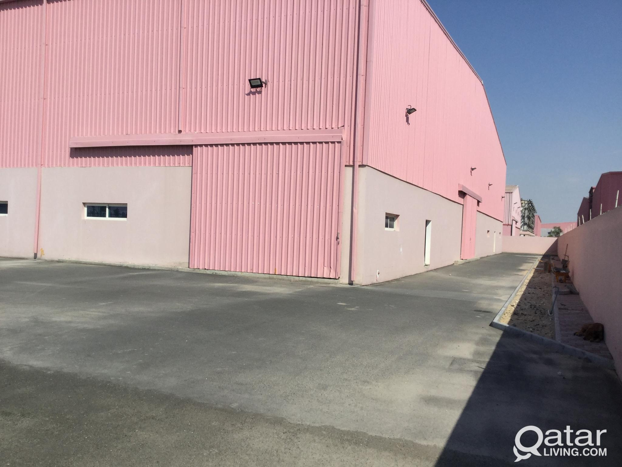 STEEL FACTORY FOR RENT IN INDUSTRIAL AREA 2300 SQM