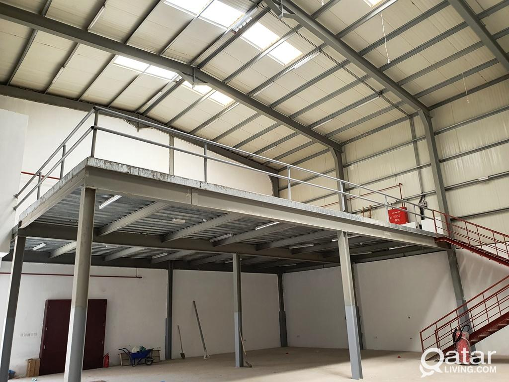 1000 Sqm Workshop @ Birkat Al Awmer