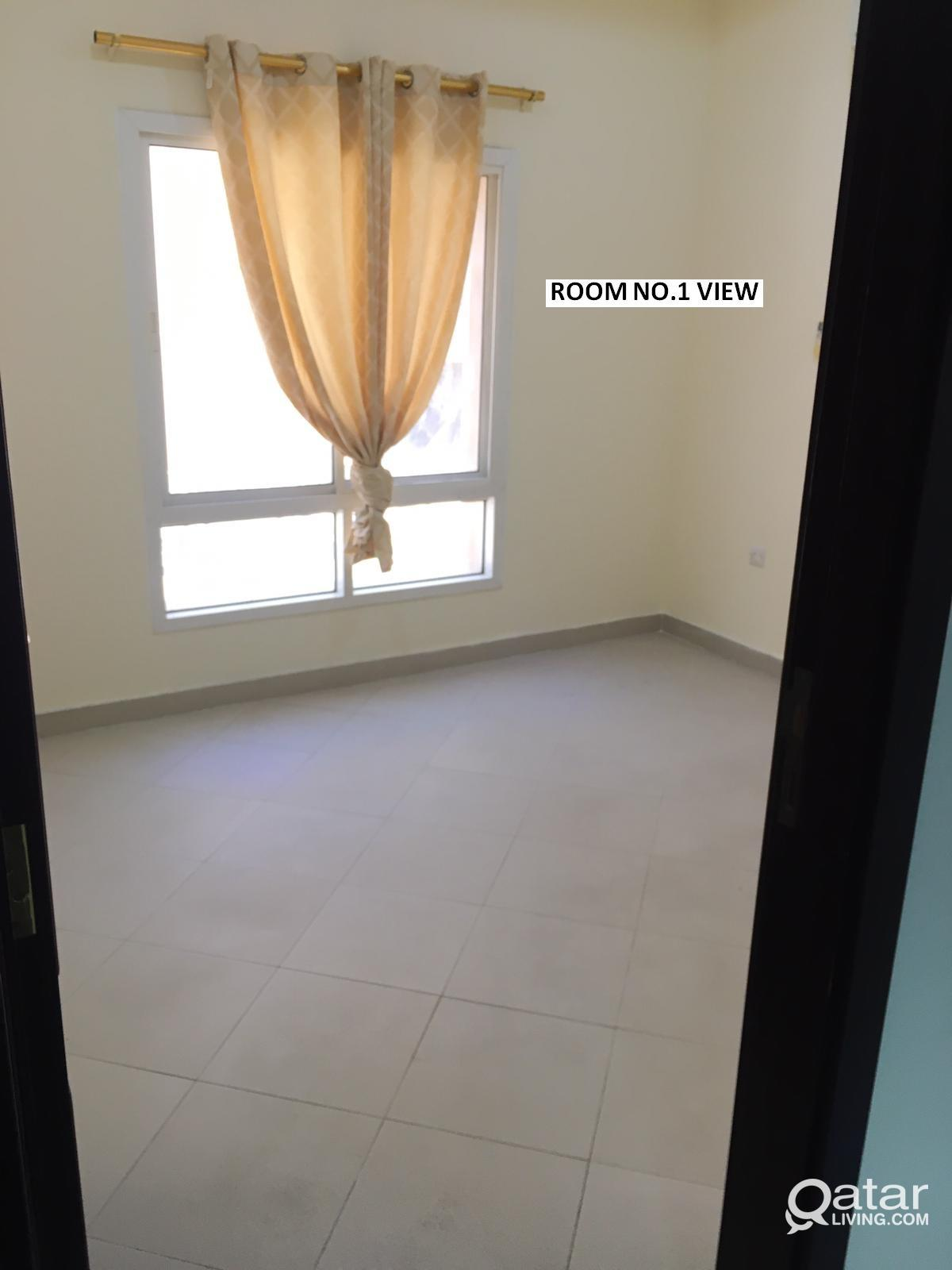 2BHK Family Apartment for rent at Al Mansoora/Najm